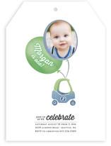 Zoomin Photo Balloon Children's Birthday Party Invitations