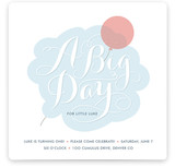 Cloudy with a Chance of Fun Children's Birthday Party Invitations