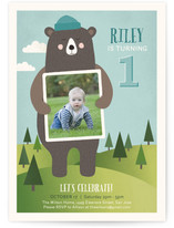 Bear Hugs Kids Party Invitations