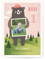 Bear Hugs Children's Birthday Party Invitations