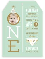 Our Little One Children's Birthday Party Invitations