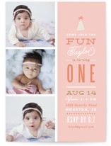 Photo Fun Kids Party Invitations