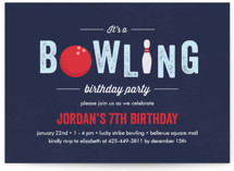 Bowling Birthday Party by Anupama