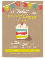 Oh What Fun! Kids Party Invitations