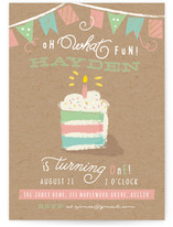 Oh What Fun! Children's Birthday Party Invitations