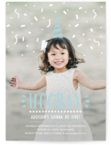 Confetti Pop! Children's Birthday Party Invitations