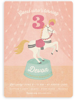 Pony Party Children's Birthday Party Invitations
