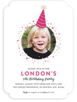 Party Hat Kids Party Invitations