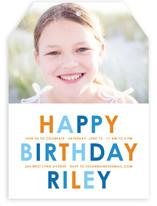 Birthday Brights Children's Birthday Party Invitations