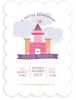 A Royal Sleepover Children's Birthday Party Invitations