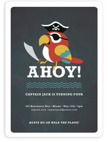 Yo Ho Ho Children's Birthday Party Invitations