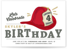 Birthday Chief Children's Birthday Party Invitations