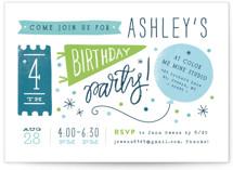 Details Details Kids Party Invitations