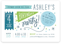 Details Details Children's Birthday Party Invitations