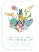 We Can Hardly Wait! Children's Birthday Party Invitations
