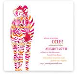 Baby Z Children's Birthday Party Invitations