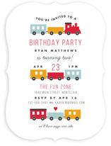 Birthday Train Children's Birthday Party Invitations