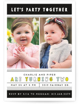 Party Together Children's Birthday Party Invitations