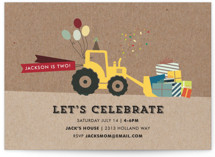 Krafting a Party Children's Birthday Party Invitations