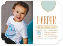 Mod Balloon Children's Birthday Party Invitations