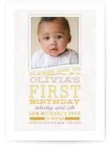 Olivia Children's Birthday Party Invitations