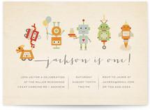 Robot Parade by Dawn Jasper