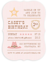 Yeehaw Children's Birthday Party Invitations