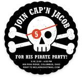 Pirate Paarrrrrrty Children's Birthday Party Invitations