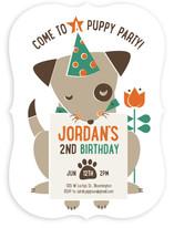 Puppy Party Children's Birthday Party Invitations