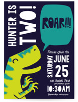 Roar Children's Birthday Party Invitations
