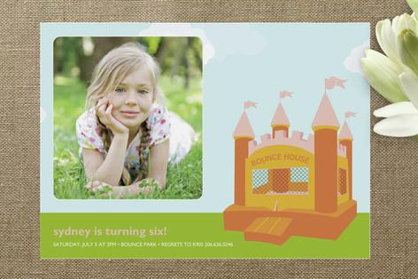Spring Children's Birthday Party Invitations