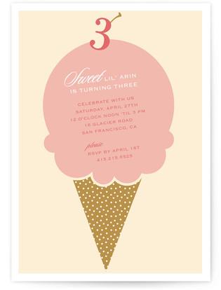 Sweet birthday Children's Birthday Party Invitations