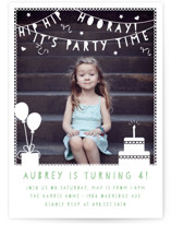 Party Time Banner by Gakemi Design Co