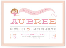 Perfect Balance Kids Party Invitations