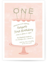 Frosting Kids Party Invitations