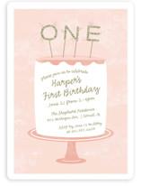 Frosting Children's Birthday Party Invitations