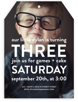 Big Time Kids Party Invitations