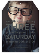 Big Time Children's Birthday Party Invitations