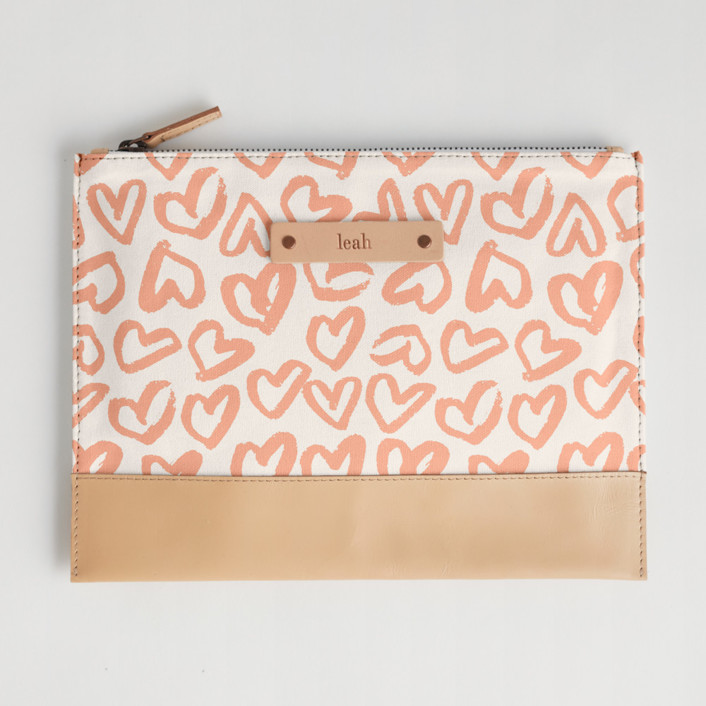 Heart Flutter Casual Clutch