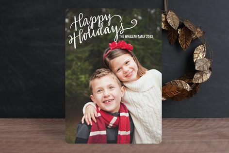 Merry Scriptmas Christmas Photo Cards