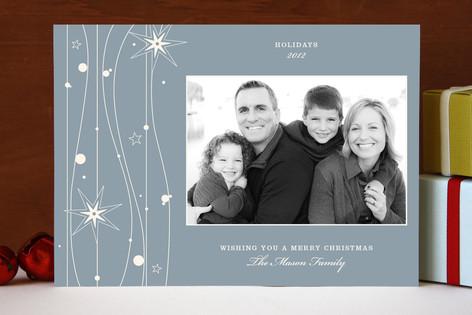 Twilight Stars Christmas Photo Cards