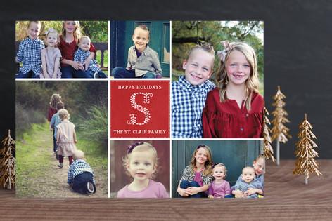 Monogramme Christmas Photo Cards