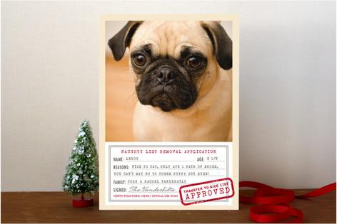 North Pole Form 1225B Christmas Photo Cards