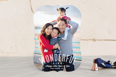 A Wonderful Life Christmas Photo Cards