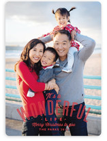 A Wonderful Life Christmas Photo Cards