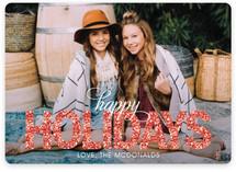 Bold Sparkle Christmas Photo Cards