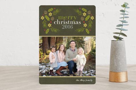 Winter Arbor Christmas Photo Cards