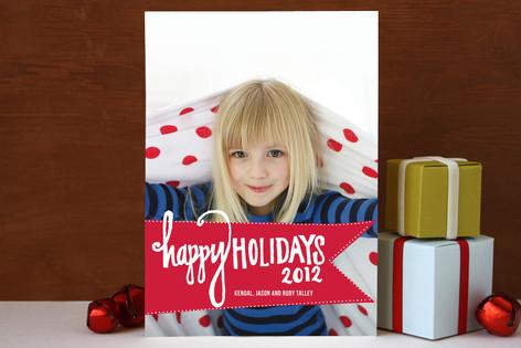 Varsity Christmas Photo Cards