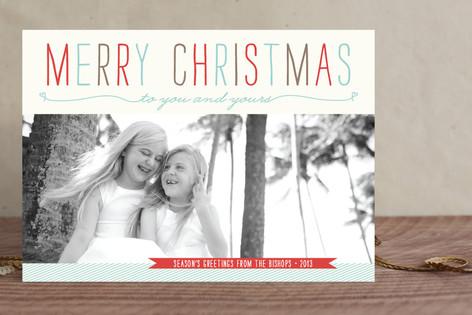 Be Light Christmas Photo Cards