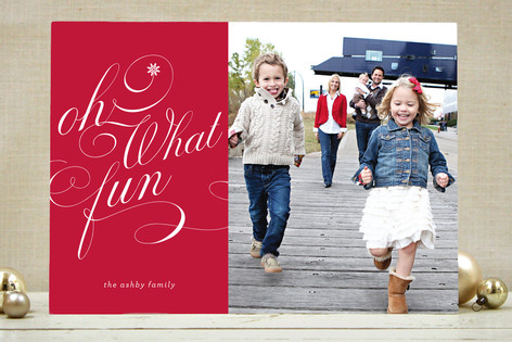 Ton of Fun Christmas Photo Cards